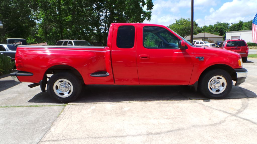 1999 FORD F150 step side